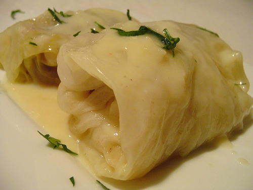 cabbage stuffed