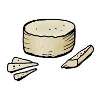 traditional Greek cheese, ground