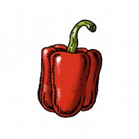 red pepper, spice, chilli