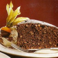 DESSERT - CHOCOLATE AND ALMOND CAKE