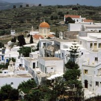 320 x 320: GREECE - CYCLADES - TINOS - VILLAGE