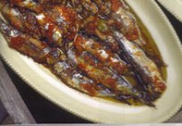 BAKED SARDINES WITH TOMATO SAUCE