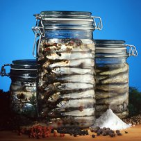 ANCHOVIES IN JARS