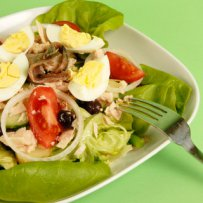 320 x 320: FOOD - SPAIN - MIXED EGG SALAD
