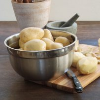 potatoes with almonds dish,potatoes,almonds,side dish with potatoes