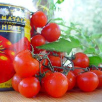 320 x 320: FOOD - CHERRY TOMATOES AND CAN