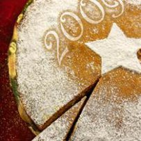 210 x 210: FOOD - DESSERT - GREECE - TRADITION - NEW YEARS CAKE (VASILOPITA)