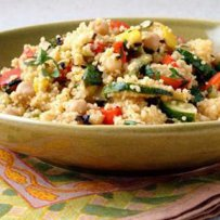 320 x 320: FOOD - COUSCOUS WITH VEGETABLES