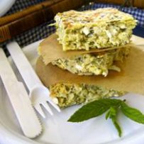 greek omellet,omellets with cheese and courgettes,eggs, zucchini