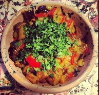 Caponata, Eggplant and Olives Stew