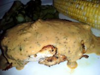 Turkey Breast with Estragon and Mustard Sauce