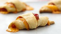 Puff Pastry Croissant with Prosciutto