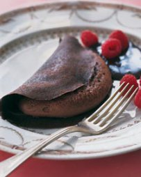 Chocolate Soufflé Crepes
