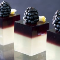 Milk and Grape Jello