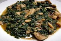 Cuttlefish with Fennel and Spinach