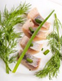Grilled Herring with Fennel