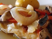Cod Stewed in Tomato
