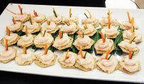 Shrimp and Cheese Canapes