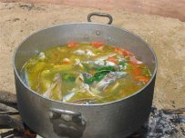 fish soup, kakavia, fresh,