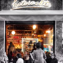 Heteroclito,  Cave & Bar  à vin in the centre of Athens