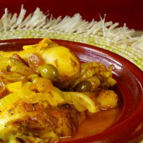 Chicken Casserole with Tomatoes, Olives and Feta NP