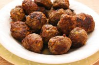 Little Meatballs Stuffed with Olives