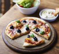 Mediterranean Pizza recipe