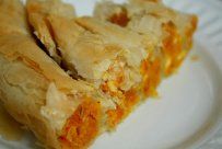Pumpkin Pie with Apples and Dates