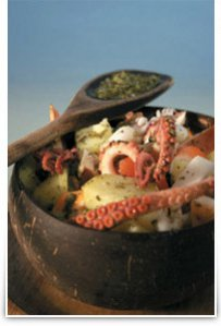Octopus and Potato Salad with Green Beans