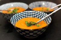 tasty healthy soups, vegetables meals, elegant dishes