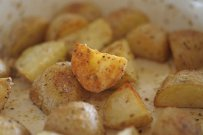 Potatoes Baked with Cumin