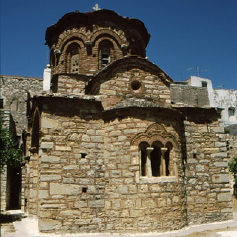 320 x 320: GREECE - NORTH AEGEAN - CHIOS - CHURCH
