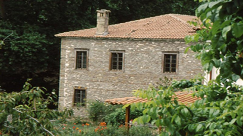 ORIGINAL: GREECE - LARISA - METAXOHORI - TRADITIONAL HOUSE