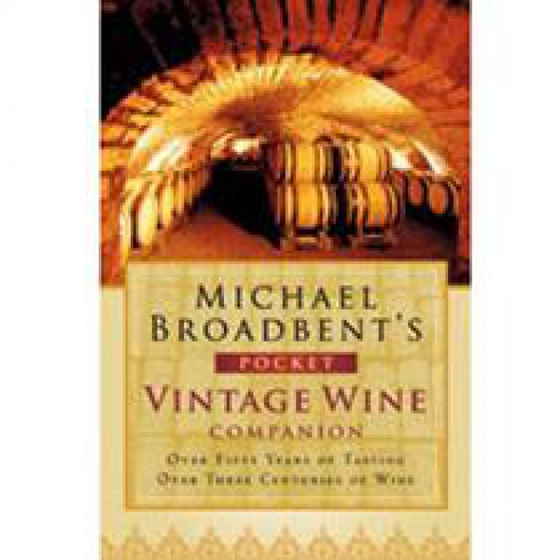210 x 210: BOOK - MICHAEL BROADBENT'S POCKET VINTAGE WINE COMPANION