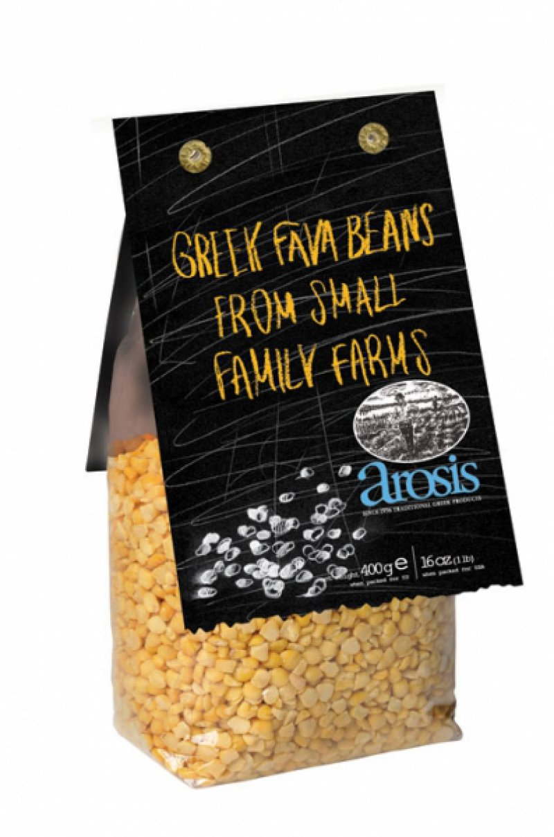 Arosis Greek fava beans from Feneos