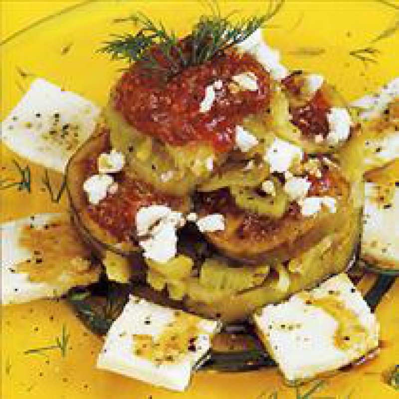 FENNEL, FIGS AND FETA CHEESE