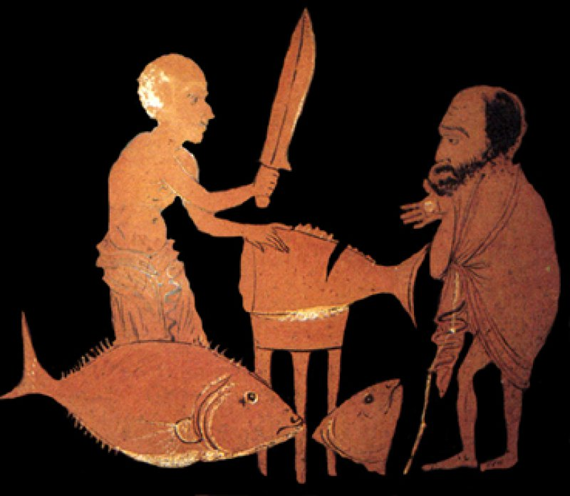 The Austere diet of Ancient Athens