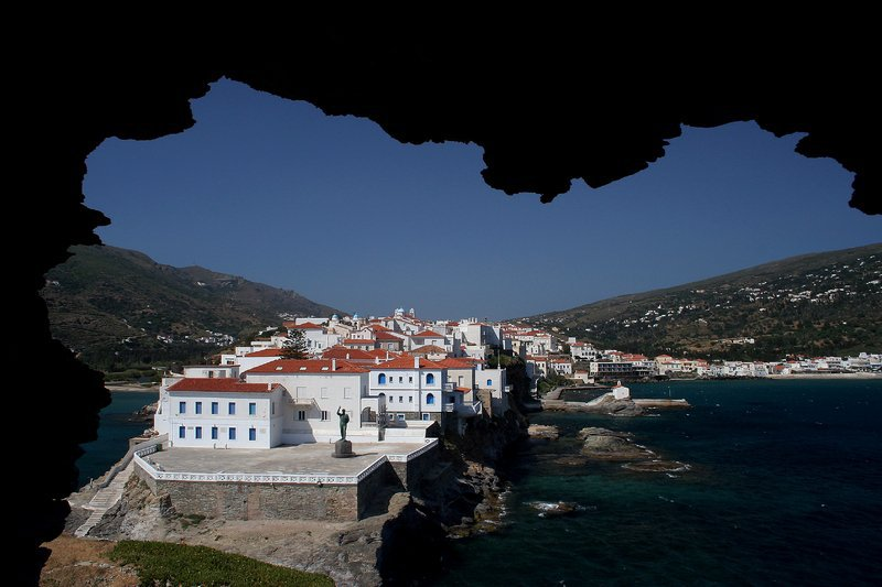 GREECE - CYCLADES - ANDROS - TRADITIONAL