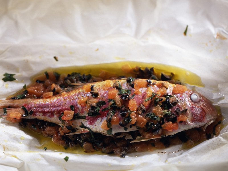 FOOD - FISH - RED MULLET