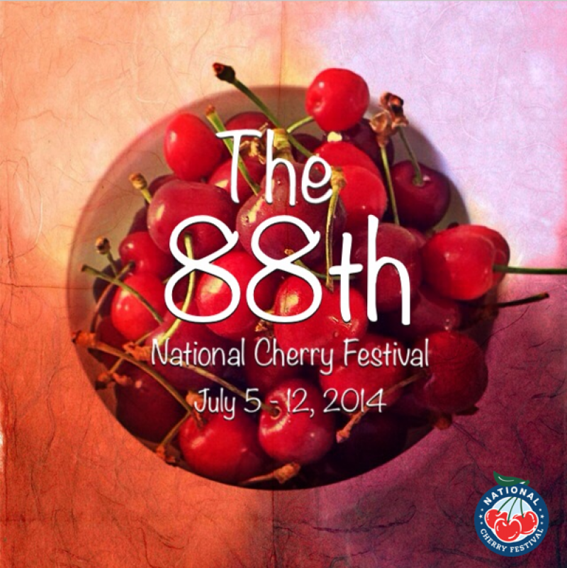 The 88th National Cherry Festival in Traverse City, Michigan