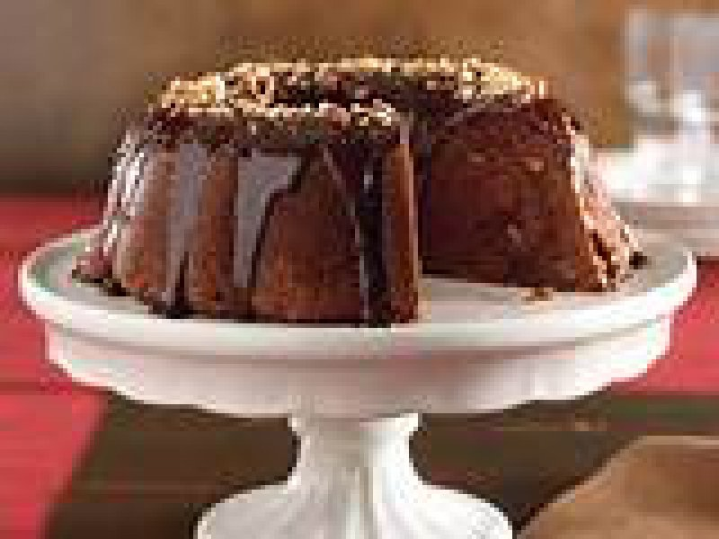 Cake with Cocoa and Rum