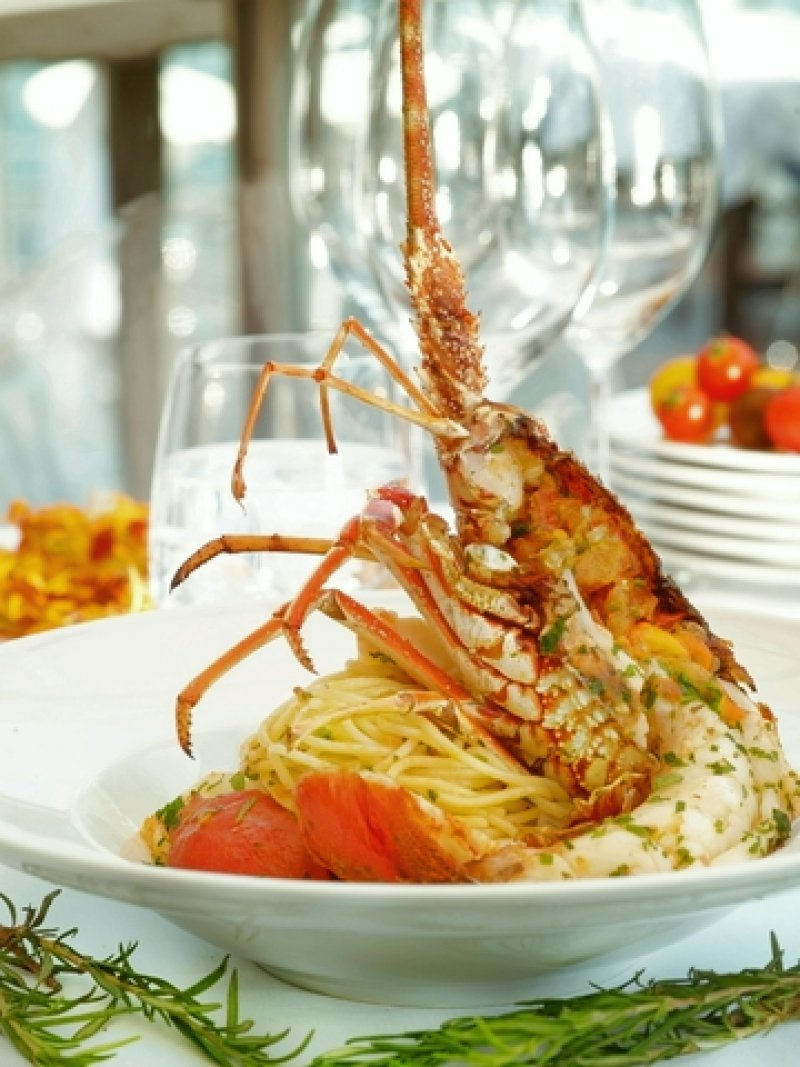 Pasta with Lobster from Skyros