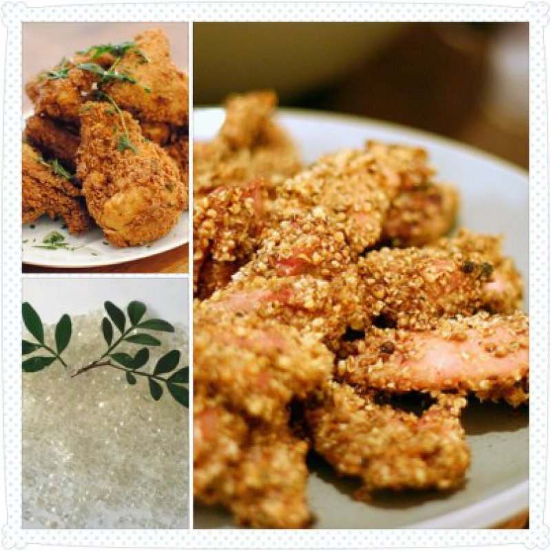 Chicken Breasts with Mastic Crust NP