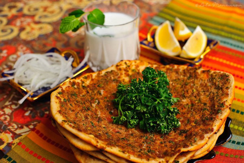 Lahmacun - The turkish pizza