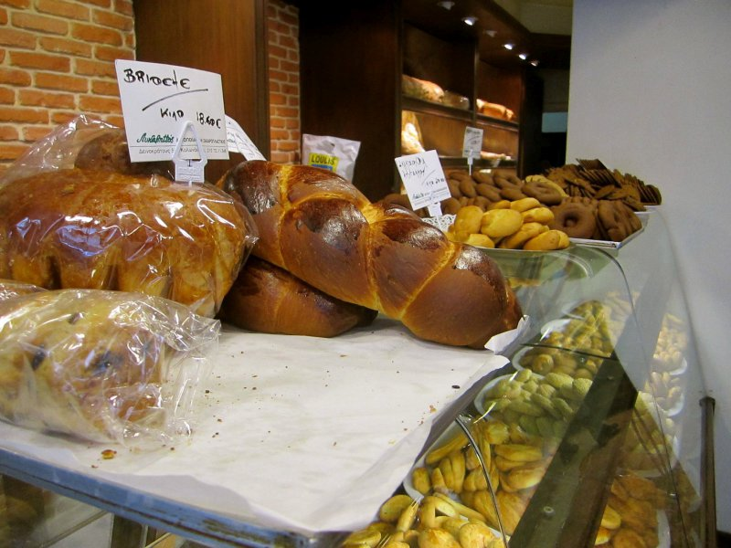The Bakery of Lycabettus: at the top of the flour hill