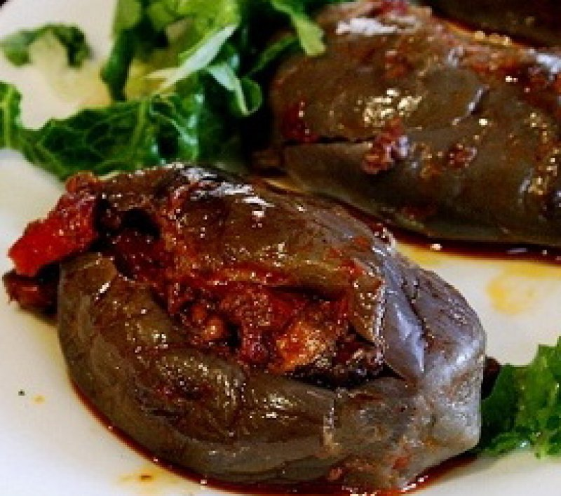 Makdous,  Syrian Oil Cured Eggplants