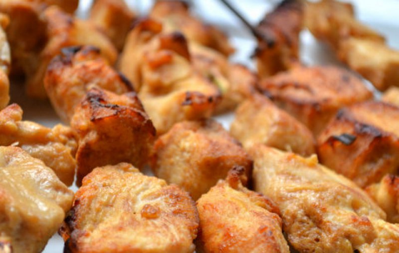 Lebanese Chicken Pieces with Garlic & Spices - Shish Taouk