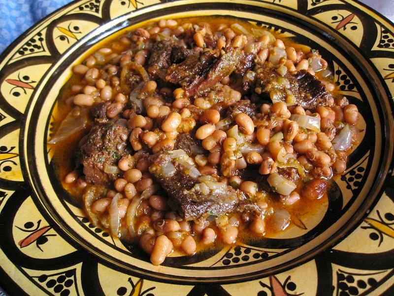 Lamb with Black-Eyed Beans