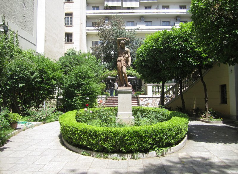 In the Garden of the Numismatic Museum of Athens
