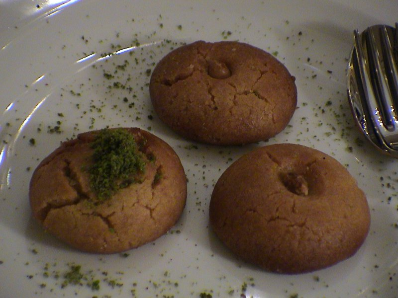 Seker pare biscuits